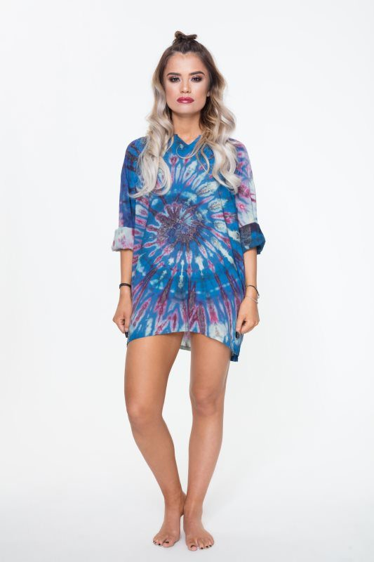 Festival Fashion Tye Dye - Rapid Flame